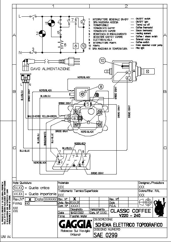 Gaggia 220V Wiring Diagram.png