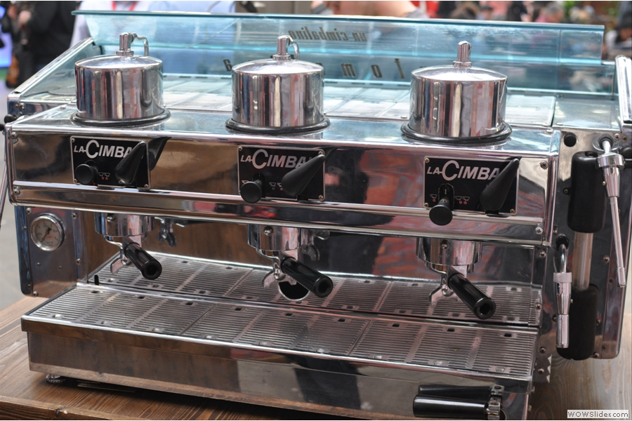 Granluce hydraulisch, Brians Coffee Spot.jpg